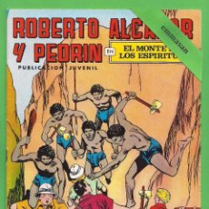 Tebeos: ROBERTO ALCÁZAR Y PEDRÍN - Nº 160 - 2ª ÉPOCA - ''EL MONTE DE LOS ESPÍRITUS'' - 14-IV-1979.. Lote 104304831