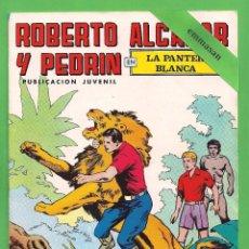 Tebeos: ROBERTO ALCÁZAR Y PEDRÍN - Nº 161 - 2ª ÉPOCA - ''LA PANTERA BLANCA'' - 21-IV-1979.. Lote 104305103