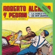 Tebeos: ROBERTO ALCÁZAR Y PEDRÍN - Nº 163 - 2ª ÉPOCA - ''LA DOBLE VIDA DE ROY JASPER'' - 05-V-1979.. Lote 104305883