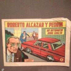 Tebeos: ROBERTO ALCAZAR Y PEDRIN : UN AUTOMATA ANDA SUELTO. Lote 104391043