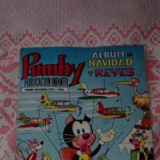 Tebeos: PUMBY ALBUM DE NAVIDAD Y REYES 1969. Lote 104508547