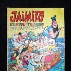 Tebeos: JAIMITO, ALBUM DE VERANO. VALENCIANA, 1968. Lote 104736267