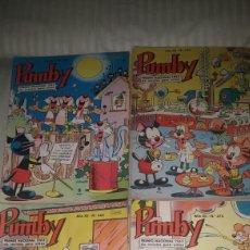 Tebeos: PUMBY LOTE DE 24 NUMEROS AÑO 1966. Lote 104834626