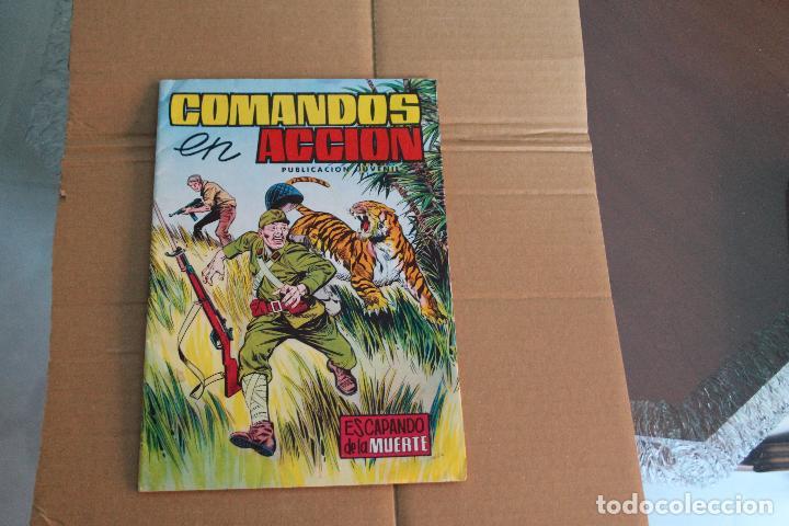 COMANDOS EN ACCIÓN Nº 17, ED.VALENCIANA (Tebeos y Comics - Valenciana - Otros)
