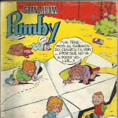 Tebeos: GRAN ALBUM PUMBY 1963 EN BUEN ESTADO. Lote 105104499