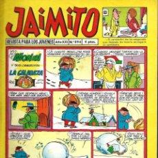 Tebeos: JAIMITO Nº 894 - AÑO XXI - VALENCIANA - MUY BIEN CONSERVADO. Lote 105658175