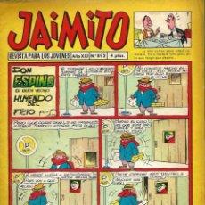 Tebeos: JAIMITO Nº 892 - AÑO XXI - VALENCIANA - MUY BIEN CONSERVADO. Lote 105658203