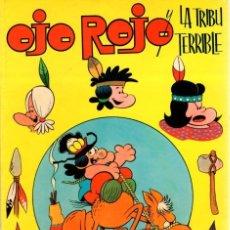 Tebeos: OJO ROJO Y LA TRIBU TERRIBLE. EXTRAORDINARIO DE JAIMITO. AÑO 1976. Lote 105900344