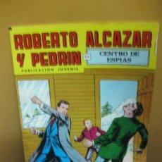 Tebeos: ROBERTO ALCAZAR Y PEDRIN Nº 195. CENTRO DE ESPIAS. 2º EPOCA EDIVAL 1979. Lote 105905999