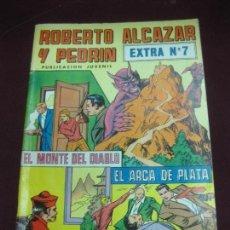 Tebeos: ROBERTO ALCAZAR Y PEDRIN. EXTRA Nº 7. EL MONTE DEL DIABLO - EL ARCA DE PLATA. Lote 105906627