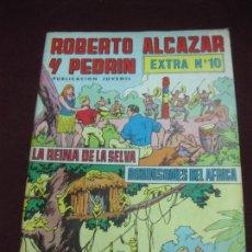Tebeos: ROBERTO ALCAZAR Y PEDRIN. EXTRA Nº 10. LA REINA DE LA SELVA - ROBINSONES DEL AFRICA. Lote 105907223