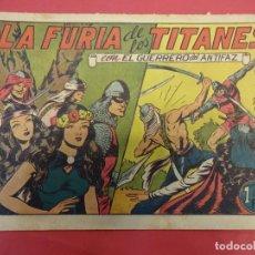 Tebeos: EL GUERRERO DEL ANTIFAZ. CUADERNILLO ORIGINAL. ED. VALENCIANA. 1,25 PTA. Nº 92. Lote 106001643