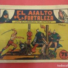 Tebeos: EL GUERRERO DEL ANTIFAZ. CUADERNILLO ORIGINAL. ED. VALENCIANA. 0,75 CTMS. Nº 6. Lote 106003203