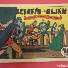 Tebeos: EL GUERRERO DEL ANTIFAZ. CUADERNILLO ORIGINAL. ED. VALENCIANA. 0,75 CTMS. Nº 10. Lote 106003563