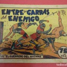 Tebeos: EL GUERRERO DEL ANTIFAZ. CUADERNILLO ORIGINAL. ED. VALENCIANA. 0,75 CTMS. Nº 11. Lote 106003663