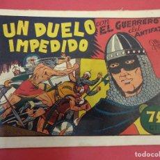 Tebeos: EL GUERRERO DEL ANTIFAZ. CUADERNILLO ORIGINAL. ED. VALENCIANA. 0,75 CTMS. Nº 12. Lote 106003755