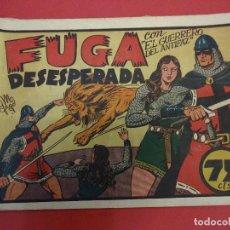 Tebeos: EL GUERRERO DEL ANTIFAZ. CUADERNILLO ORIGINAL. ED. VALENCIANA. 0,75 CTMS. Nº 16. Lote 106004251
