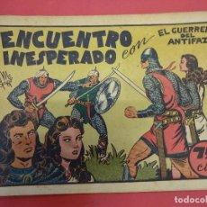 Tebeos: EL GUERRERO DEL ANTIFAZ. CUADERNILLO ORIGINAL. ED. VALENCIANA. 0,75 CTMS. Nº 18. Lote 106004515