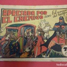 Tebeos: EL GUERRERO DEL ANTIFAZ. CUADERNILLO ORIGINAL. ED. VALENCIANA. 0,75 CTMS. Nº 19. Lote 106004607