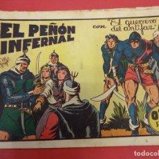 Tebeos: EL GUERRERO DEL ANTIFAZ. CUADERNILLO ORIGINAL. ED. VALENCIANA. 0,75 CTMS. Nº 20. Lote 106004767