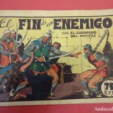 Tebeos: EL GUERRERO DEL ANTIFAZ. CUADERNILLO ORIGINAL. ED. VALENCIANA. 0,75 CTMS. Nº 25. Lote 106005283