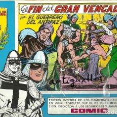 Tebeos: TOMO,COMIC Nº35 EL GUERRERO DEL ANTIFAZ,EDITORIAL VALENCIANA,HOMENAJE A M.GAGO AÑO 1981.. Lote 106015747