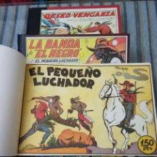 Tebeos: EL PEQUEÑO LUCHADOR (COMPLETA MENOS DOS NUMEROS ENCUADERNADA) -GAGO (VALENCIANA 1945) -REEDICION-. Lote 109502944