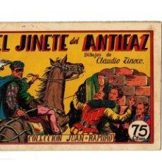 Tebeos: COLECCIÓN JUAN Y RAMIRO Nº 3 -EL JINETE DEL ANTIFAZ- ÚLTIMO DE LA COLECCIÓN. ORIGINAL.MUY BUENO.. Lote 106107711