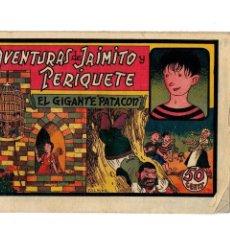Tebeos: AVENTURAS DE JAIMITO Y PERIQUETE -EL GIGANTE PATACÓN- ORIGINAL 1943. Lote 106595535