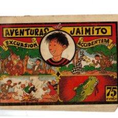 Tebeos: AVENTURAS DE JAIMITO Y PERIQUETE -EXCURSIÓN ACCIDENTADA- ORIGINAL 1943. Lote 106595943