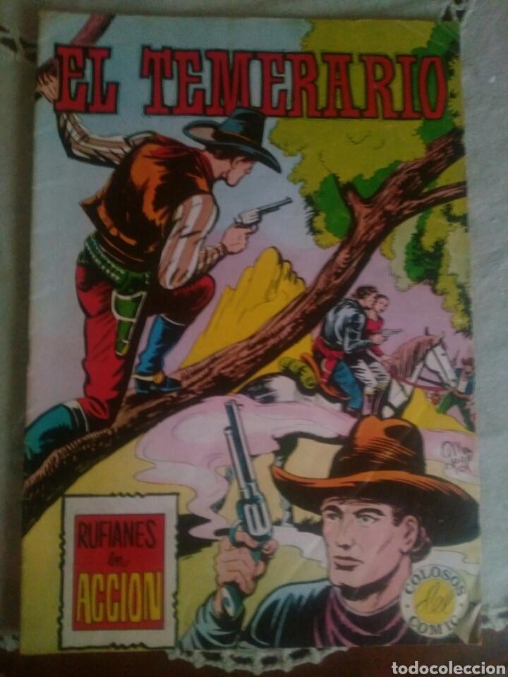 LOTE TEBEOS EL TEMERARIO (Tebeos y Comics - Valenciana - Otros)