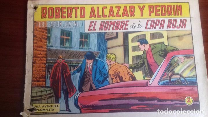 COMIC ROBERTO ALCAZAR Y PEDRIN Nº 818. ORIGINAL VALENCIANA. AÑO 1968. (Tebeos y Comics - Valenciana - Roberto Alcázar y Pedrín)