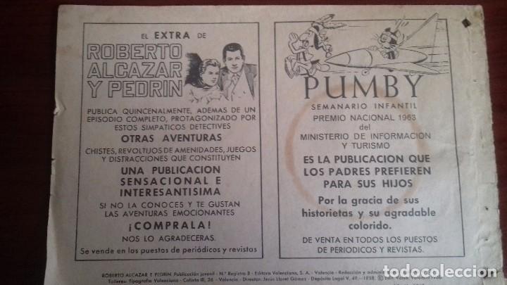 Tebeos: COMIC ROBERTO ALCAZAR Y PEDRIN Nº 818. ORIGINAL VALENCIANA. AÑO 1968. - Foto 4 - 107008979