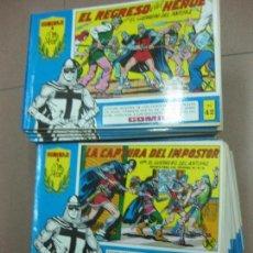 Tebeos: EL GUERRERO DEL ANTIFAZ. DEL Nº12 AL Nº 86. EDITORA VALENCIANA 1981.. Lote 107517391