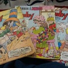 Tebeos: LOTE 3 COMICS PUMBY 931, 1089 Y GRAN ALBUM DE JUEGOS. LEER. Lote 107839571