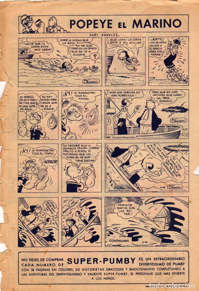 Tebeos: SÓLO PORTADAS - Pumby. Publicación Infantil. Año VIII. Número 254 - Foto 3 - 108111503