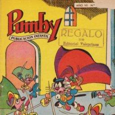 Tebeos: PUMBY. PUBLICACIÓN INFANTIL. REGALO DE EDITORIAL VALENCIANA. AÑO VII. Lote 108116691