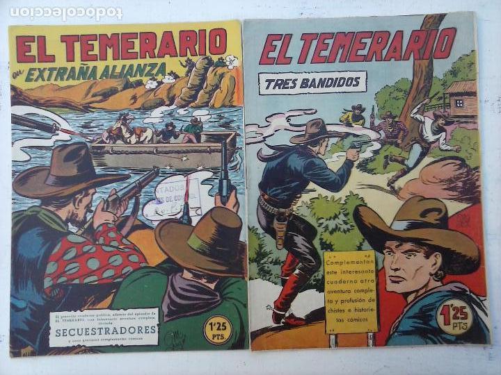 EL TEMERARIO ORIGINALES NºS - 10 Y 27 - MUY BUEN ESTADO - MANUEL GAGO (Tebeos y Comics - Valenciana - Otros)