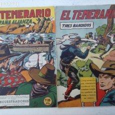 Tebeos: EL TEMERARIO ORIGINALES NºS - 10 Y 27 - MUY BUEN ESTADO - MANUEL GAGO. Lote 108128083