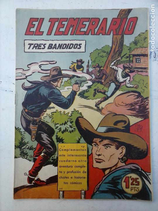 Tebeos: EL TEMERARIO ORIGINALES NºS - 10 Y 27 - MUY BUEN ESTADO - MANUEL GAGO - Foto 2 - 108128083