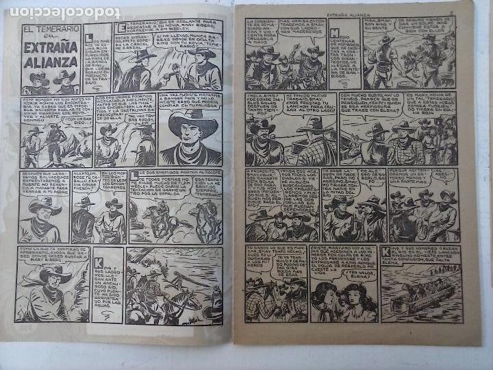 Tebeos: EL TEMERARIO ORIGINALES NºS - 10 Y 27 - MUY BUEN ESTADO - MANUEL GAGO - Foto 5 - 108128083