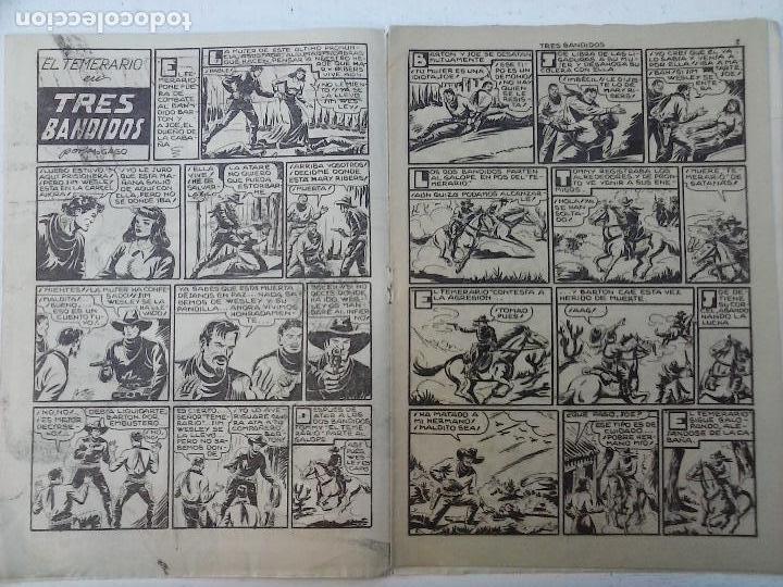 Tebeos: EL TEMERARIO ORIGINALES NºS - 10 Y 27 - MUY BUEN ESTADO - MANUEL GAGO - Foto 6 - 108128083