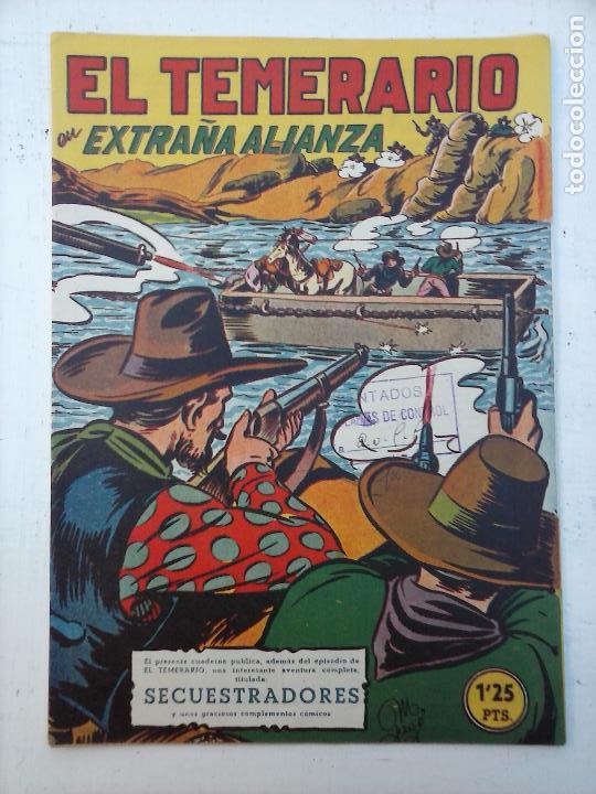 Tebeos: EL TEMERARIO ORIGINALES NºS - 10 Y 27 - MUY BUEN ESTADO - MANUEL GAGO - Foto 12 - 108128083