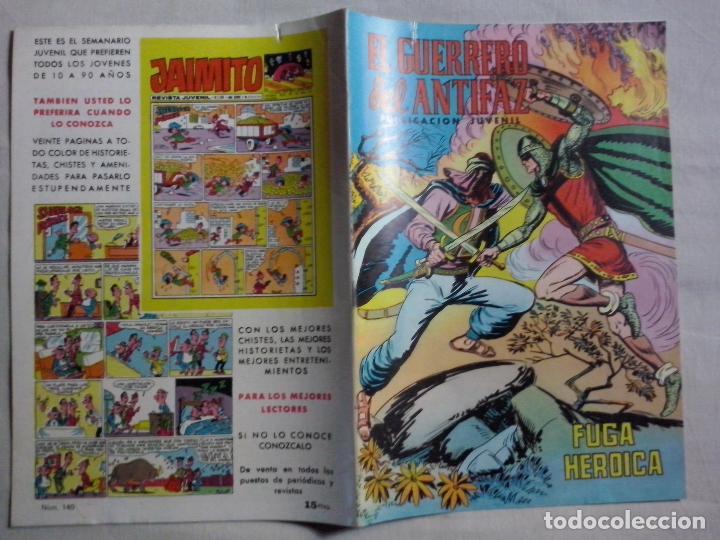 TEBEOS Y COMICS: EL GUERRERO DEL ANTIFAZ Nº 140. COLOR (Tebeos y Comics - Valenciana - Guerrero del Antifaz)