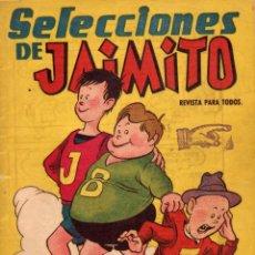 Giornalini: SELECCIONES DE JAIMITO. REVISTA PARA TODOS. AÑO I. NÚMERO 1. Lote 108636055