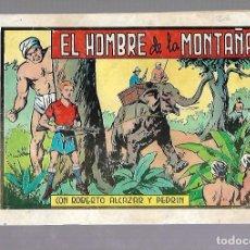 Tebeos: TEBEO EL HOMBRE DE LA MONTAÑA CON ROBERTO ALCAZAR Y PEDRIN. Nº 109. Lote 108773615