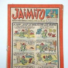 Tebeos: JAIMITO REVISTA JUVENIL N.º 451. (VVAA) EDITORIAL VALENCIANA, 1958. Lote 108808874