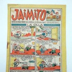 Tebeos: JAIMITO REVISTA JUVENIL N.º 464. (VVAA) EDITORIAL VALENCIANA, 1958. Lote 108809015