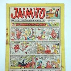 Tebeos: JAIMITO REVISTA JUVENIL N.º 467. (VVAA) EDITORIAL VALENCIANA, 1958. Lote 108809023