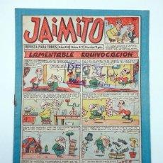 Tebeos: JAIMITO REVISTA JUVENIL N.º 472. (VVAA) EDITORIAL VALENCIANA, 1958. Lote 108809031